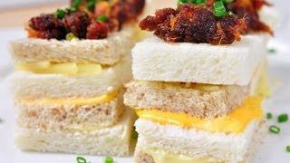 getlinkyoutube.com-แซนวิชชีสหมูหยองพริกเผา - ขนมปังคอนโด (เมนูไมโครเวฟ)