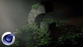 getlinkyoutube.com-Растения, листья, деревья в Cinema 4D
