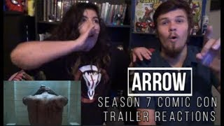 Arrow Season 7 Comic Con Trailer Reactions width=