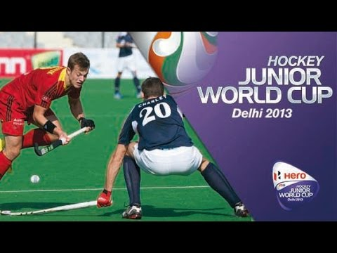 Belgium vs France - Men's Hero Hockey Junior World Cup India Quarter Finals [12/12/2013]
