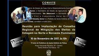 N O Notícias Reunião Mitigação do Noroeste-RJ
