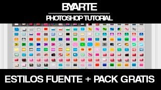 getlinkyoutube.com-Descargar y Instalar Estilos + Pack Gratis -Tutorial Photoshop [byaRTe]