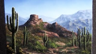 getlinkyoutube.com-Paint with Kevin Hill - Desert View
