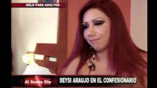 getlinkyoutube.com-Confesionario sexual: Deysi Araujo inaugura este ardiente juego