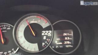 getlinkyoutube.com-Top Speed Toyota GT86: 226 km/h / Autobahn / Tachoclip - AUTO BILD SPORTSCARS