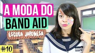 getlinkyoutube.com-A MODA DO BAND-AID NA ESCOLA JAPONESA