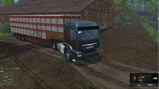 getlinkyoutube.com-LS 15 Modvorstellung - LKW Viehtrailer v 1.0