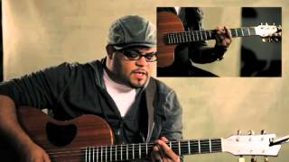 getlinkyoutube.com-Jesus At the Center (Guitar Tutorial) by Israel Houghton