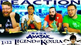 """Legend of Korra 1x12 FINALE REACTION!! """"Endgame"""""""