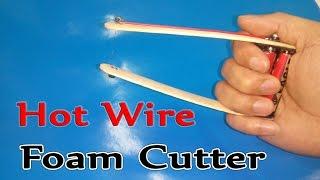 getlinkyoutube.com-How To Make Handheld Hot Wire Foam Cutter ( Simple )