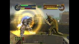 getlinkyoutube.com-Godzilla: Save The Earth - Megalon VS. Mechagodzilla 2 (HARD)