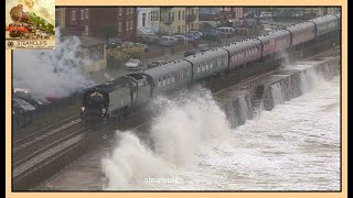 Spectacular Seas Pound The Royal Duchy. Dawlish Sea Wall. 23rd Sept 2012