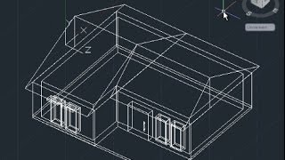 getlinkyoutube.com-AutoCAD 3D House Modeling Tutorial Beginner (Basic)