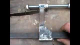 Самодельные F-образные струбцины (зажимы, clamp)_©Jktu