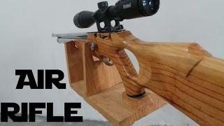 getlinkyoutube.com-Custom Made Air Rifle - Fully hand-built gun