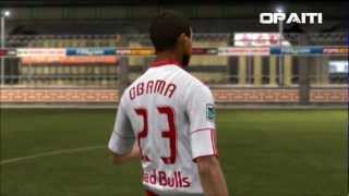 Barack Obama on FIFA 12 [Game Face]