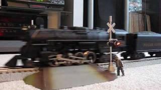 getlinkyoutube.com-Christmas Train V - Lionel Polar Express