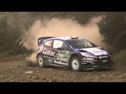 WRC Acropolis Rally 2013: Stages 6-9