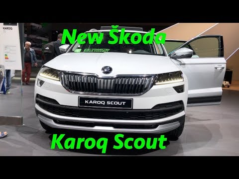 New Skoda Karoq Scout 2019 first quick look in 4K