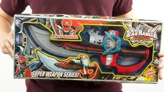 getlinkyoutube.com-Bootleg Gokai Saber Demo - Gaoranger Kaizoku Super Weapon Series