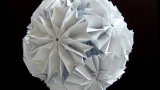 getlinkyoutube.com-How to make a Cherry Blossom Ku-Kusudama