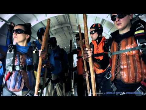 ETB Commercial.  Harry Potter Quiddich - Skydiving