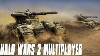 Halo Wars 2 Multiplayer 3vs3 - Grizzly Wars