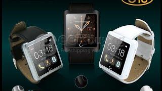 getlinkyoutube.com-U10 U Watch Waterproof Bluetooth Smart Watch for iPhone Samsung Android Phone