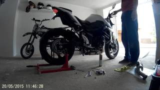 getlinkyoutube.com-Gsr 750 Mivv exhaust