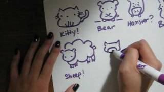getlinkyoutube.com-How to draw mediocre cute animals