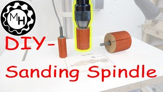 getlinkyoutube.com-Homemade Sanding Spindles for the Drill-Press