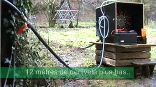 getlinkyoutube.com-Micro Hydro / Turbine Pelton Part 1