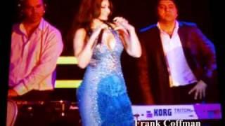 """getlinkyoutube.com-Haifa Wehbe sings """"Ana Haifa"""" in Las Vegas in 2010 هيفاء وهبي - انا هيفاء"""