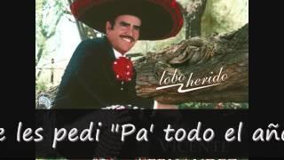 getlinkyoutube.com-Vicente Fernandez Borracho te Recuerdo (letra)