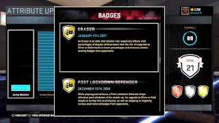 NBA 2K16- How to get Badges (Big men vol.2)