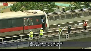 getlinkyoutube.com-2 SMRT staff killed in accident near Pasir Ris station