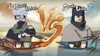 getlinkyoutube.com-Naruto Shippuden Ultimate Ninja Storm 4 - 11 minutes of Vs Battles (GC Demo Build)