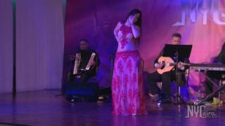 getlinkyoutube.com-Mercedes Nieto Performing at NYCairo Raks Festival 2016 - Superstars Gala show!