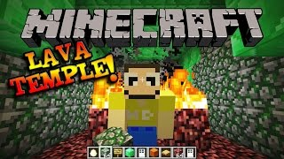 getlinkyoutube.com-MINECRAFT LAVA TEMPLE!!!