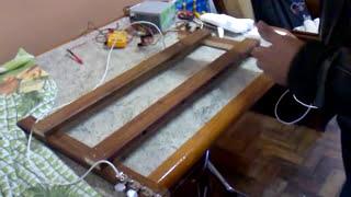 getlinkyoutube.com-Cortador de isopor caseiro usando fonte de computador para asa de aero-modelo