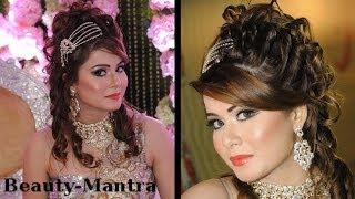 getlinkyoutube.com-Wedding Makeup - Complete Hair And Makeup