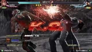 getlinkyoutube.com-鉄拳7 高円寺キューブ 15/03/22 Tekken7 kouenji CUBE