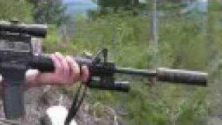 getlinkyoutube.com-Military Grade Gun Suppressors Silencers Homemade .50 cal .223 .308