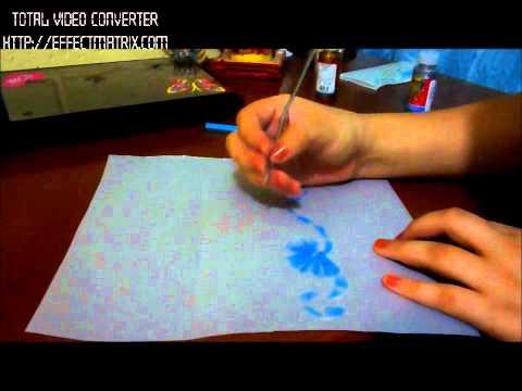 Como hacer una tarjeta de papel vegetal por Karina Bojorquez