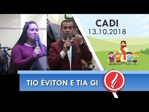 Congresso Cadi - Tio Éviton e Tia Gi - 13 10 2018