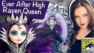 getlinkyoutube.com-Raven Queen SDCC 2015 (Рейвен Квин Комик Кон) Ever After High Обзор/Review, Comic Con,CJF47