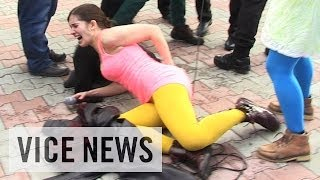 getlinkyoutube.com-Pussy Riot Gets Whipped in Sochi