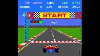 getlinkyoutube.com-Arcade Game: Pole Position (1982 Namco/Atari)