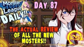 getlinkyoutube.com-Monster Super League DAILY!! REVIEW OF THE NEW UNITS: SIEGFRIED, GARUDA, NEZHA!! ♕Ep.87