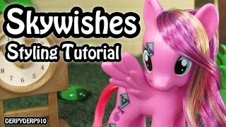 My Little Pony:  Skywishes Hair Styling Tutorial MLP